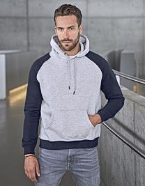 Two-Tone Hooded Sweatshirt